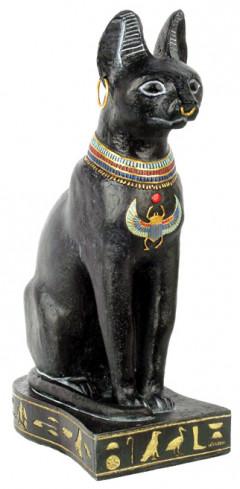 Egyptisk kat Bastet - 23cm - Egyptisk figur