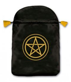 Tarotkort / Englekort pose med pentagram