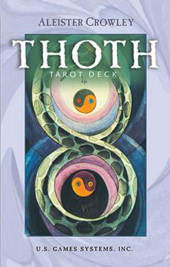 Aleister Crowley Thoth Tarot - standard - Tarotkort