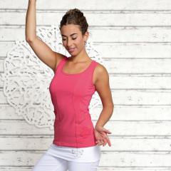 Yoga Top - Flower of Life - Pink - Spirit of om