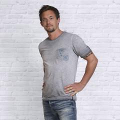 T-Shirt - Grå - Spirit of OM