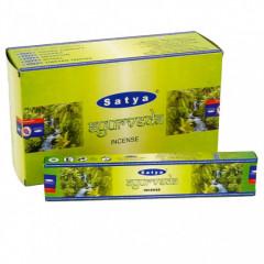 Satya Ayurveda røgelse - 15 gram - Røgelsespinde