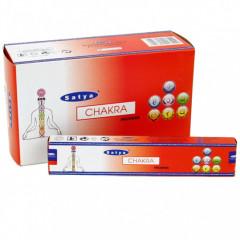 Satya Chakra røgelse - 15 gram - Røgelsespinde