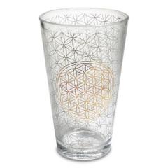 Drikke glas - Flower of life - 2 stk
