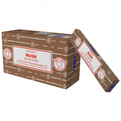 Satya Musk røgelse - 15 gram - Røgelsespinde