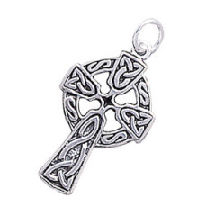 Keltisk kors - 28mm - u/kæde
