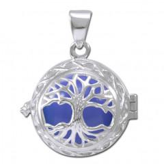 Engleklokke / Harmony ball med Livets Træ - u/kæde
