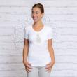 Buddha T-shirt - Hvid - Spirit of om