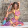 Yoga top - Rainbow - Spirit of om
