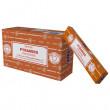 Satya Pyramids røgelse - 15 gram - Røgelsespinde