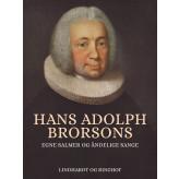 Hans Adolph Brorsons egne salmer og åndelige sange - E-bog Hans Brorson