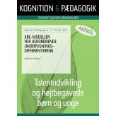 ABC-modellen for udfordrende undervisningsdifferentiering - E-bog Kirsten Baltzer