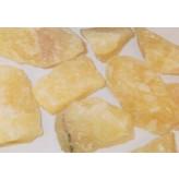Calcit gul rå - pr sten