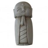 Jizo figur - Grå - 21 cm