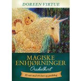 Magiske enhjørninger - på dansk - orakelkort - Doreen Virtue -Udkommer Januar 2019 Doreen Virtue