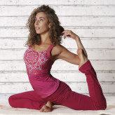 Yoga top - Chakra - Pink - Spirit of om