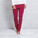 Yoga bukser med nederdel - Rosen rød - Spirit of om