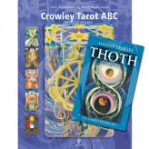 Crowley Tarot ABC bog med Pocket kort Ulrik Golodnoff og Søren Rasmussen