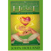 The Psychic Tarot for the Heart Oracle Card Deck John Holland