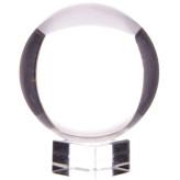 Krystalkugle - 50mm - med opsats - Krystalkugler