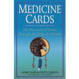 Medicine Cards kort og bog Jamie Sans og David Carson