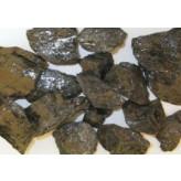 Sort obsidian rå - pr sten