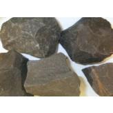 Onyx sort rå - pr sten