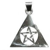 Vedhæng med Pentagrammet i en Pyramide 35mm