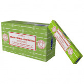 Satya Traditional Ayurveda røgelse - 15 gram - Røgelsespinde