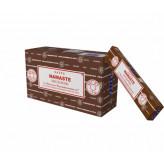 Satya Namaste røgelse - 15 gram - Røgelsespinde