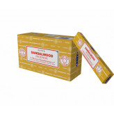 Satya Sandalwood røgelse - 15 gram - Røgelsespinde
