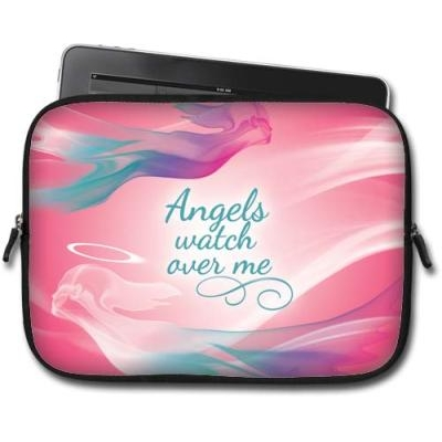 Image of   Angels Watch Over Me - Ipad Tablet taske