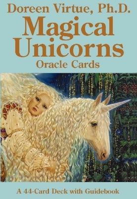 Magical unicorns oracle cards - doreen virtue ph.d. -m/engelsk vejledning fra N/A på bog & mystik