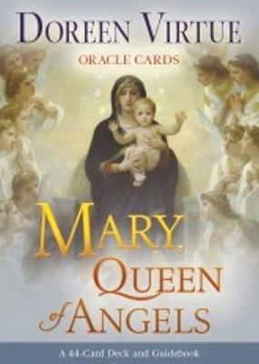 N/A – Mary queen of angels - doreen virtue - m/engelsk brugervejl fra bog & mystik