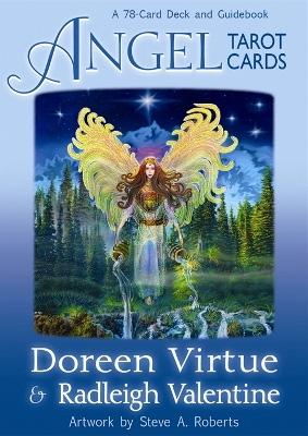 N/A – Angel tarot cards -m/engelsk brugervejl  - doreen virtue på bog & mystik