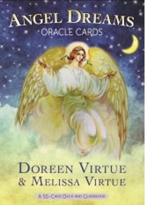 Angel dreams orakelkort - doreen virtue - m/engelsk brugervejl fra N/A på bog & mystik