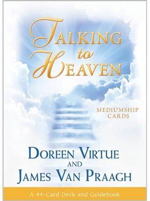 N/A Talking to heaven mediumship cards - doreen virtue  - m/engelsk brugervejl på bog & mystik