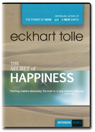 The Secret of Happiness - Eckhart Tolle - 2 DVDer