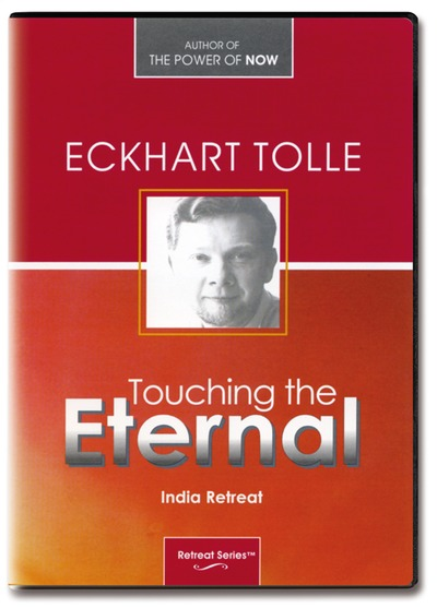 Touching the eternal - india retreat - eckhart tolle - 6 dvder fra N/A på bog & mystik