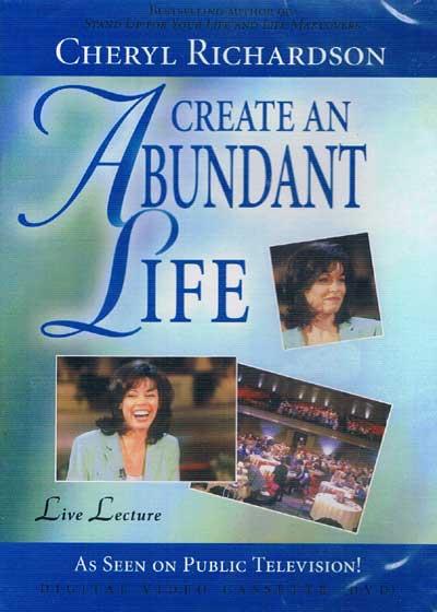 N/A – Create an abundant life - cheryl richardson på bog & mystik