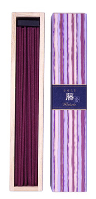 N/A Kayuragi - wisteria - japansk røgelse fra bog & mystik