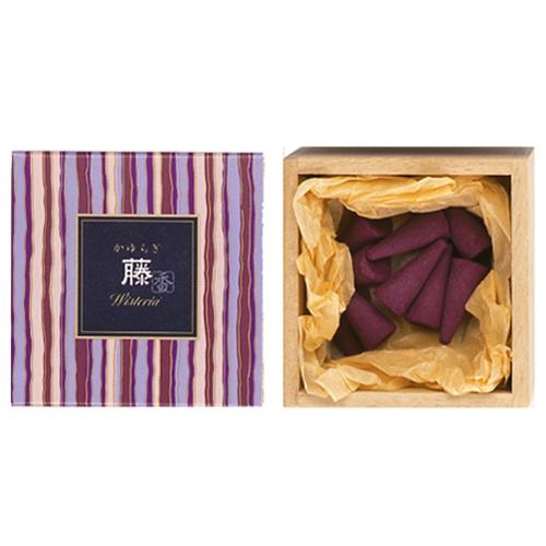 Kayuragi Wisteria - Røgelses kegle - Japansk røgelse
