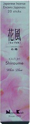 Image of   Ka Fuh Shiraume - White Plum - Japansk røgelse