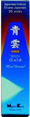 N/A – Seiun gold  -  floral oriental - japansk røgelse fra bog & mystik