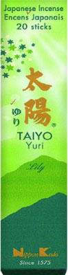 Taiyo Yuri  -  Lily - Japansk røgelse
