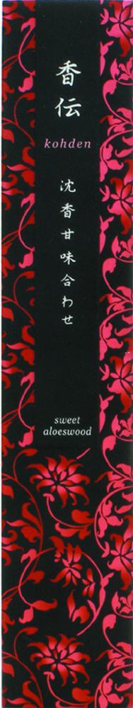 N/A – Kohden - sweet aloeswood - japansk røgelse fra bog & mystik