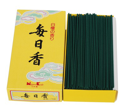 Mainichi-Koh - Sandalwood - Big Box - Japansk røgelse