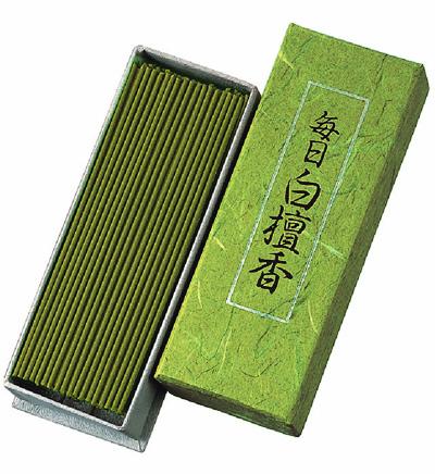 Mainichi Byakudan - Sandalwood - Japansk røgelse