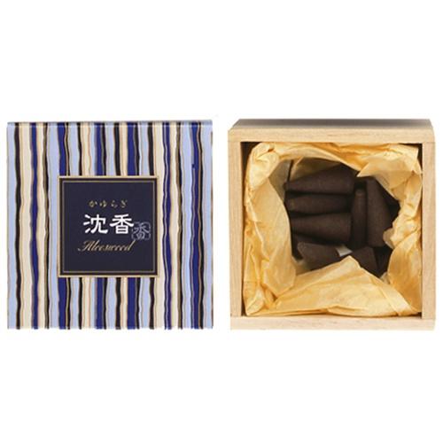 Image of   Kayuragi Aloeswood - Røgelses kegle - Japansk røgelse