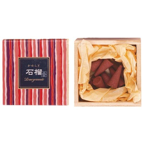 Image of   Kayuragi Pomegranate - Røgelses kegle - Japansk røgelse